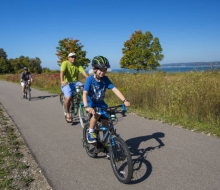 Biking the Little Traverse Wheelway