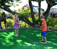 Mini-Golf at Pirates Cove