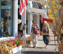 Check out unique shops in Petoskey and Harbor Springs
