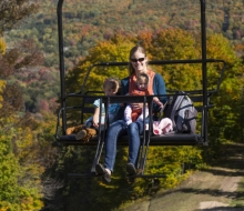Take a chairlift ride at Nubs Nob or Boyne