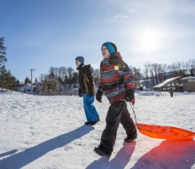 Sled and Skate at the Petoskey Winter Sports Park