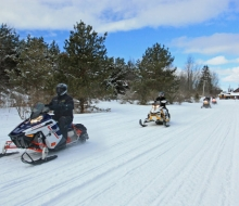 Trout Creek is Snowmobile Friendly