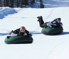 Tubing at Boyne Highlands