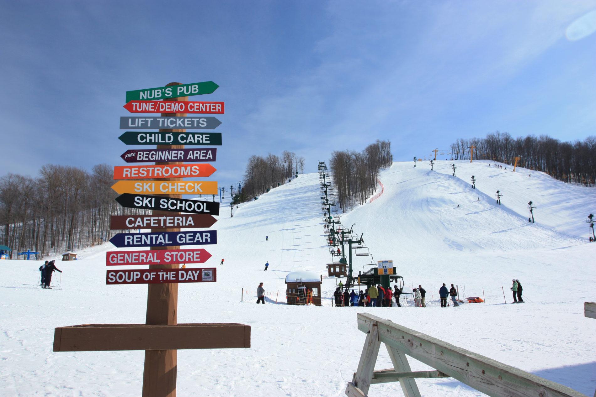 harbor springs ski resorts northern michigan
