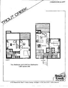 Super 2 Bedroom Loft Floor Plan Trout Creek Interior Design Ideas Helimdqseriescom